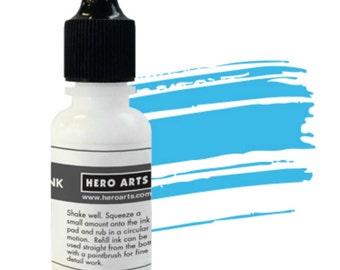 Hero Arts Summer Sky Reinker NK338,ink, stamping, paper crafting, scrapbook, mixed media, a2zscrapbooking