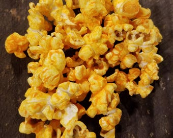 Cheddar Cheese Gourmet Popcorn | Ships FREE, Gluten Free, Non-GMO, Handcrafted, Real Cheese, Flavored. Great Easter Basket Gift For Kids!