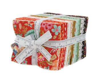 Moda MERAKI 34 Fat Quarter Bundle 30490AB Quilt Fabric By BasicGrey