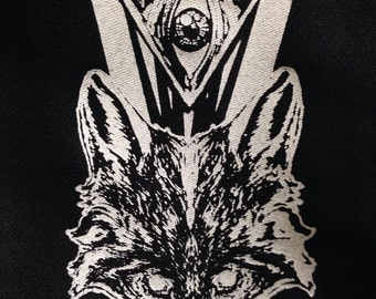 Fox Eye  patch, patches, Punk Patch