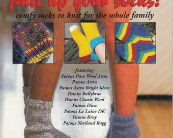 Patons Pull up your socks! comfy socks for the whole family - Patons Knitted Patterns