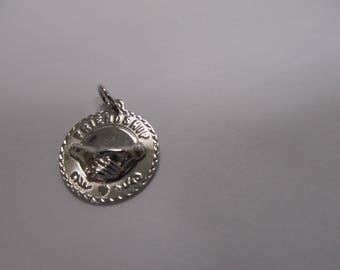 925 Sterling Silver Friendship Charm W #865