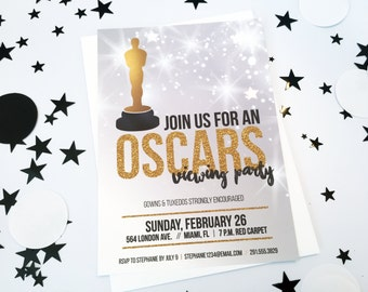 Oscars // Academy Awards Viewing Party Invitations