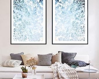 Set Of 2 Ocean Prints, Coastal Wall Decor, Ocean, Sea Prints, Blue Wall Art, Water, Prints, Digital Prints, Ocean Photography, Printable Art