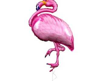 "Huge 37"" Flamingo Balloon"