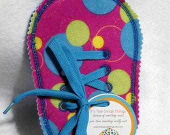 Les filles grand cercle apprendre à nouer votre chaussure grand enseignement apprentissage jouet #3836 en feutrine