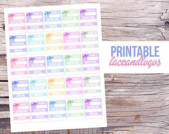 Printable Planner Stickers Flight Tracker Plane Info Travel   Happy Planner Glam Planning  Vertical Me and My Big IdeasFor Erin Condren
