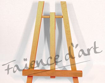 19 cm by 30 cm wooden easel stand