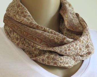 Infinity Scarf, Round Scarf, Womans gift