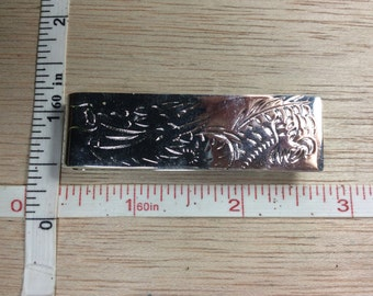 Vintage 925 Sterling Silver 22.7g Money Clip Gently Used