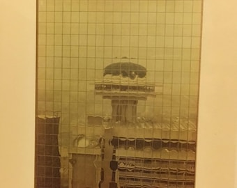 "1971 Atlanta Ga Photograph ""Regency Reflection"""