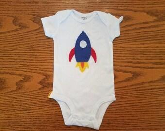 Rocket Ship Bodysuit