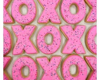 Valentine's Day XO Sugar Cookies!