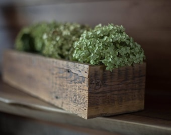 Reclaimed Barn wood Centerpiece