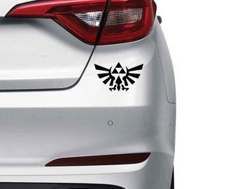 Triforce Vinyl Decal Skin Sticker Tri Force the Legend of Zelda
