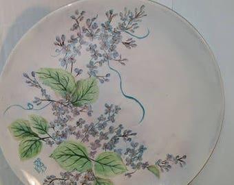 China Painted Ceramic Plate