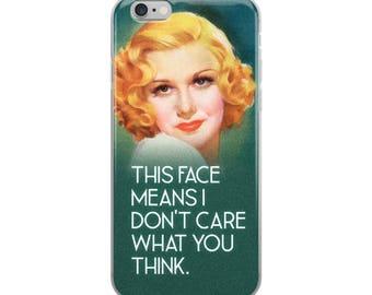 Vintage Feminist iPhone Case