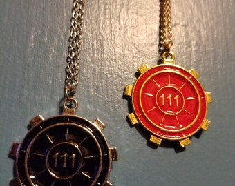 Fallout 4 Vault 111 Necklace Pendant