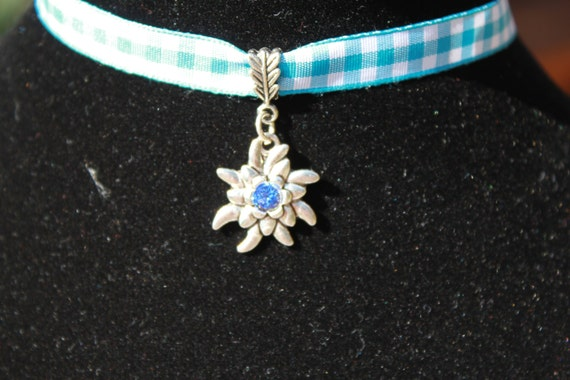 Edelweiss with Bavarian Colors