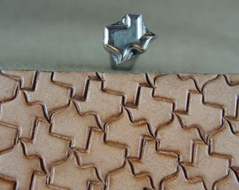 James Linnell - Texas Geometric Stamp (Leather Stamping Tool)