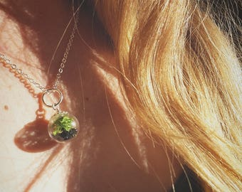 Terrarium Bead Necklace