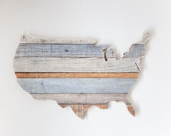 Rustic Home Decor, Farmhouse Decor, US Map, Wood Map, Rustic Wall Decor, Wooden Map, Farmhouse Wall Decor, Travel Gift, Office Decor