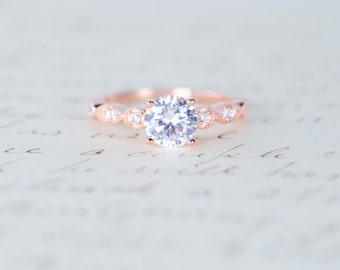 Handmade Sterling Silver Wedding Engagement Rings by MochaRings