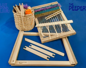 """Lost Pond Looms """"The Peeper"""" Small Table Top Loom"""