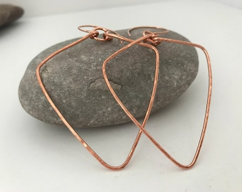 Lizzie Copper Earrings