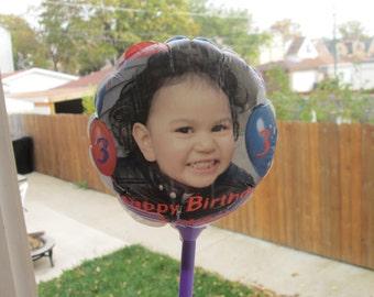 Personalized Balloons, Custom Balloons, Personalized Party Favors, Personalized Birthday Party, Custom Birthday Party Balloons
