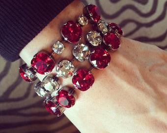 PRINCESS Swarovski Crystal Cushion Cut Bracelet
