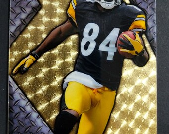 Antonio Brown Pittsburgh Steelers 2018 Access Customs Superfractor Hand Made Card 1/1 ONLY ONE MADE!!!!
