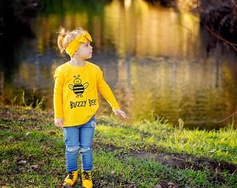 Buzzy bee shirt, kids shirt, kids birthday gift, bee birthday, busy bee shirt, animal shirt, funny kids shirt, cute bee shirt, honey bee tee