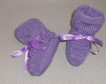 Baby birth/3months purple