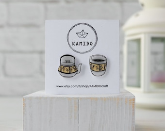 Lover's Tea earrings