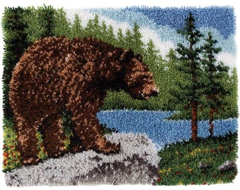 Grizzly Bear Latch Hook Kit (Pre-Order)