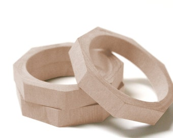 Unfinished Wood Bangles-Wood Bangles- Eco-Friendly Jewelry - Gift for Her - Wooden Bracelets-Wood Bangles