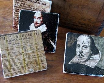 William Shakespeare Coaster Set