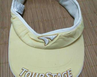 Rare Vintage TOURSTAGE Visor Hat