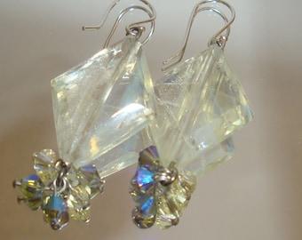 Pineapple Quartz (Blueberry Lemonade) Earrings