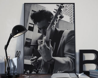 Harry Styles Poster, One Direction, Harry Styles Print, Harry Styles Gift, Sign Of The Times, 1D, Harry Style Black And White, Another man