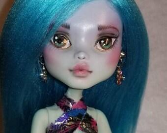 Blue Monster High Repaint OOAK