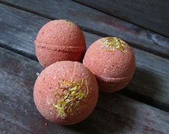 Bath Bomb BLOOD ORANGE