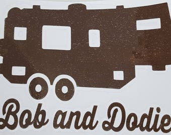 Personalized Camper/RV Decals
