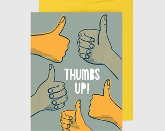 Congratulations Card - Thumbs Up