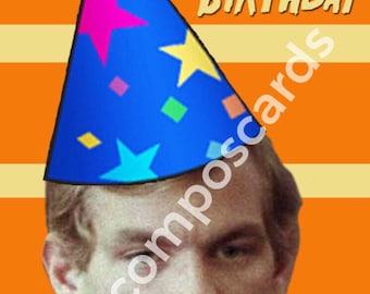 Jeffrey Dahmer birthday card serial killer cannibal