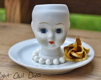 Doll Head Desk Tidy