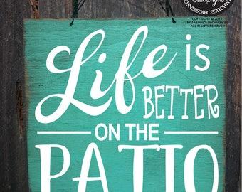 patio, patio sign, patio decor, patio decoration, deck sign, patio wall art, outside patio decor, outdoor decor, outdoor living, 350/347