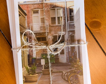 Set of Five Different Greeting Cards