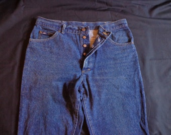 Vintage LEE jeans button fly  34x32